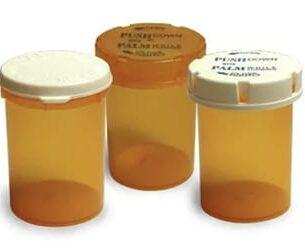 Plastic Medication Bottles