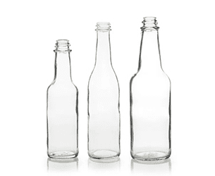 Glass Woozy Bottles